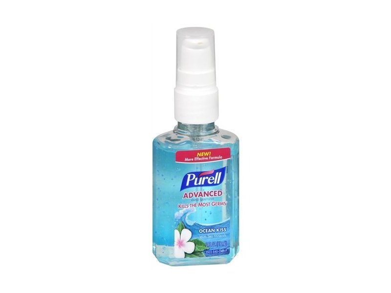 Purell Advanced Hand Sanitizer, Ocean Kiss, 2 fl oz