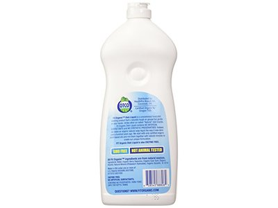 Fit Organic Hand Dishwashing Detergent, Free and Clear, 25 Ounce - Image 4