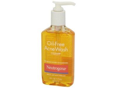 Neutrogena Oil-Free Acne Wash, 6 oz - Image 5