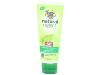 Banana Boat Natural Reflect Sunscreen Lotion SPF 50, 4 Fluid Ounce - Image 6