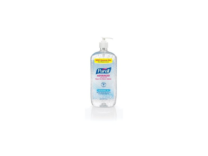 Purell Advanced Hand Sanitizer, Original, 33.8 fl oz