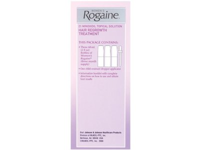 Rogaine for Women Hair Regrowth Treatment, 2 Ounce, 3 Count - Image 7