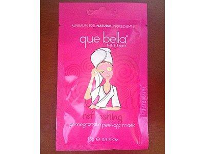 Que Bella Travel Size Refreshing Pomegranate Peel-Off Mask 0.5 fl. oz.