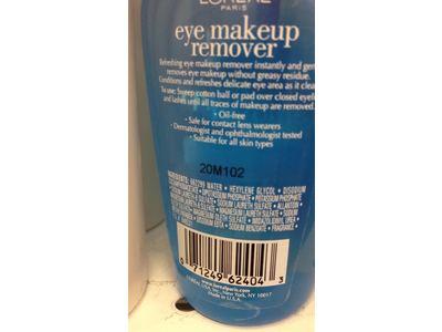 L'Oreal Paris Eye Makeup Remover, 4 fl oz - Image 4