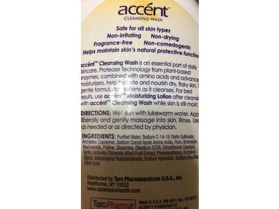 Accent Cleansing Body Wash, 12 Fl Oz - Image 5