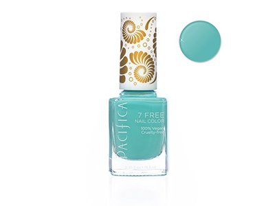 Pacifica 7 Free Nail Color, Turquoise Tiara, 0.45 fl oz