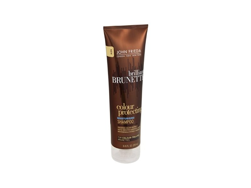 John Frieda Brilliant Brunette Colour Protecting Moisturizing Shampoo, John Frieda