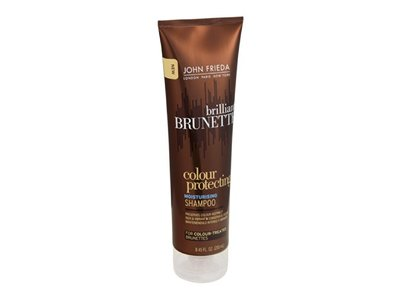 John Frieda Brilliant Brunette Colour Protecting Moisturizing Shampoo, John Frieda - Image 1