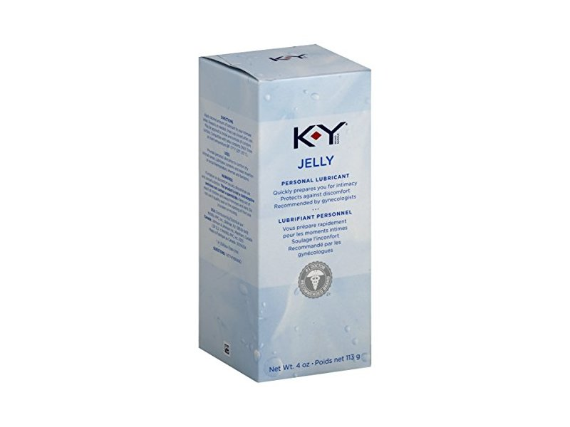 K-Y Jelly Personal Water Based Lubricant, 4 Ounce