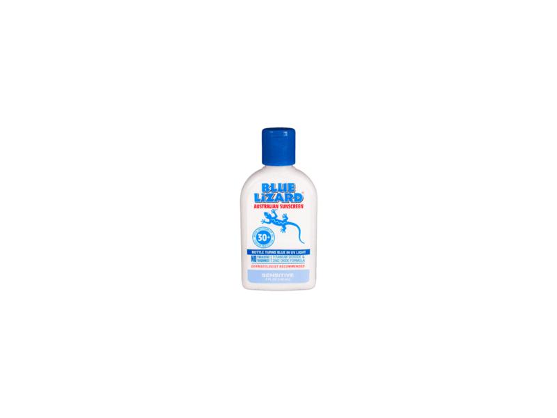 Blue Lizard Australian Sunscreen Sensitive, SPF30+, 5 fl oz (3 Pack)