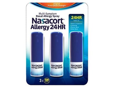 Nasacort Nasal Allergy 24H Spray,10.8 ml, Chattem