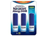 Nasacort Nasal Allergy 24H Spray,10.8 ml, Chattem - Image 1