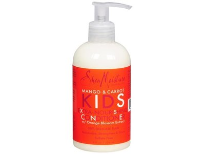 SheaMoisture Mango & Carrot Kids Extra-nourishing Conditioner, 8 Ounce