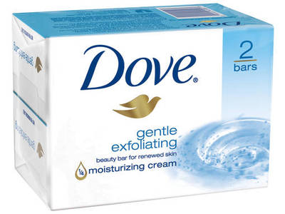 Dove Gentle Exfoliating Bar, Unilever - Image 1