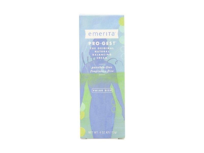 Emerita Pro-Gest Cream Paraben Free 4 oz ( Multi-Pack)