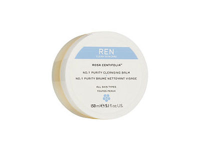 REN Rosa Centifolia™ No. 1 Purity Cleansing Balm, All Skin Types, 5.1 fl oz