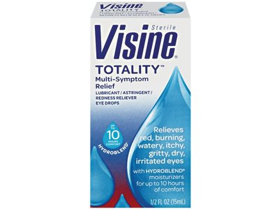 Visine Totality Multi-Symptom Relief Eye Drops - Image 1