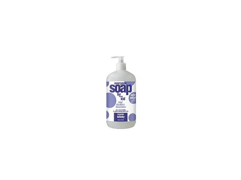 EO Products Everyone Soap for Every Kid, Lavender Lullaby, 32 fl oz