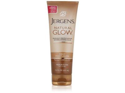Jergens Natural Glow Daily Moisturizer For Medium To Tan Skin Tones, 7.5 oz