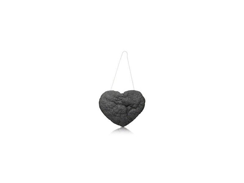 The Cleansing Sponge, Charcoal Heart Shape