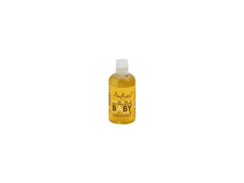 SheaMoisture Massage Oil, Baby, Raw Shea, 8 oz