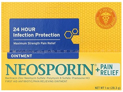 Neosporin First Aid Antibiotic Ointment Maximum Strength Pain Relief, 1-Ounce - Image 6