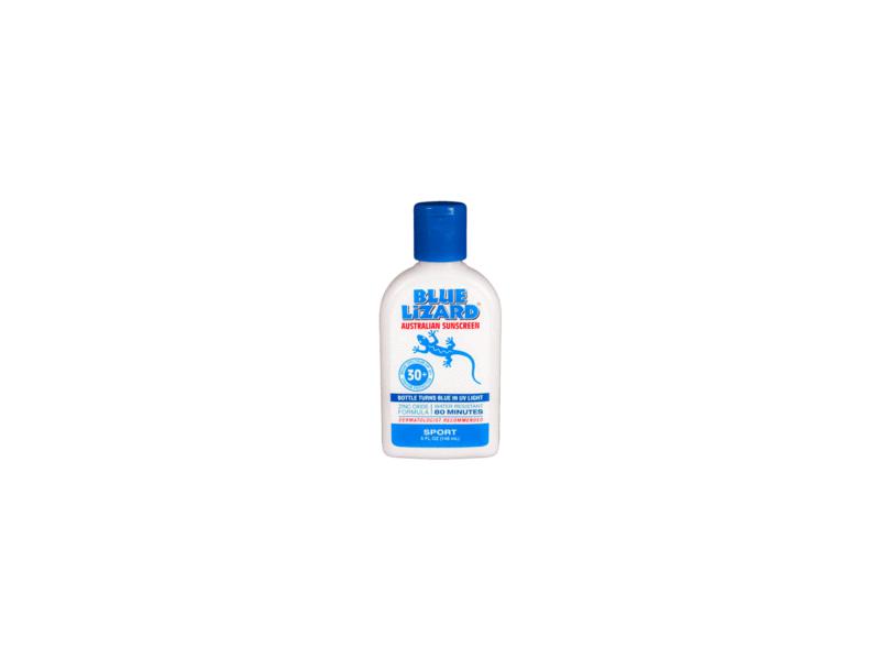 Blue Lizard Australian Sunscreen Sport, SPF30+, 5 fl oz (Pack of 3)