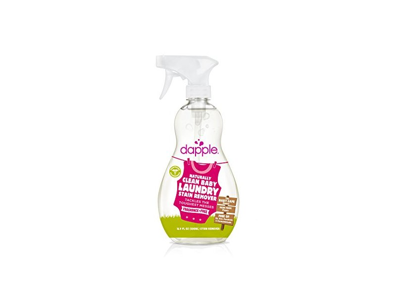Dapple Naturally Clean Baby Laundry Stain Remover Fragrance-Free, 16.9 oz