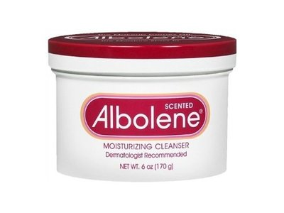 Albolene Moisturizing Cleanser Cream, Scented, 6 oz - Image 1