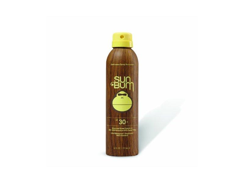 Sun Bum Continuous Spray Sunscreen, SPF 30, 6-Ounce