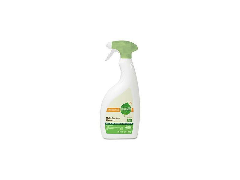 Seventh Generation Disinfecting Multi-Surface Cleaner, Lemongrass Citrus Scent, 26 fl oz