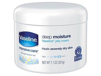 Vaseline Jelly Deep Moisture Cream, 7.1 Ounce