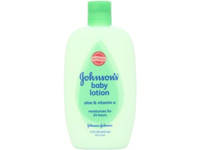 Johnson's Baby Lotion with Aloe Vera & Vitamin E, Johnson & Johnson - Image 1