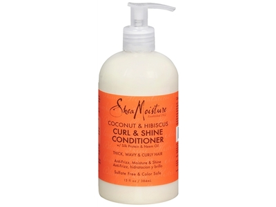 SheaMoisture Coconut & Hibiscus Curl& Shine Conditioner, 13 fl oz