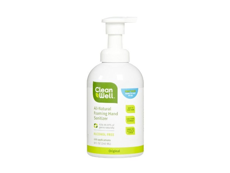 CleanWell Foaming Hand Sanitizer, Foaming 8 oz ( Multi-Pack)