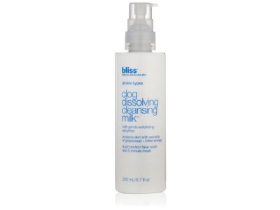 Bliss Clog Dissolving Cleansing Milk, 6.7 fl. oz.