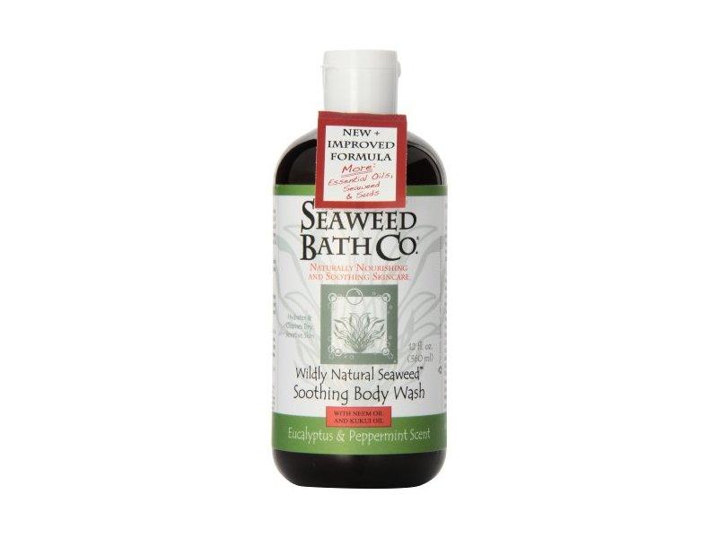 Seaweed Bath Co. - Wildly Natural Seaweed Body Wash - Eucalyptus Mint, 12 fl oz liquid