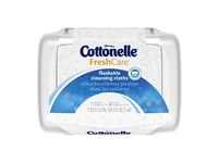 Cottonelle Fresh Care Flushable Cleansing Cloths, 42 Count (Pack of 2) - Image 2