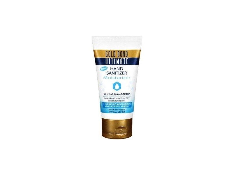 Gold Bond Ultimate Hand Sanitizing Moisturizer, Fresh Clean, 2.7 oz