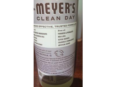 Mrs. Meyer's Clean Day Dish Soap, Lavender, 16 fl oz - Image 4