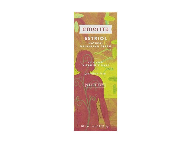 Estriol Natural Balancing Cream Emerita 4 oz Cream