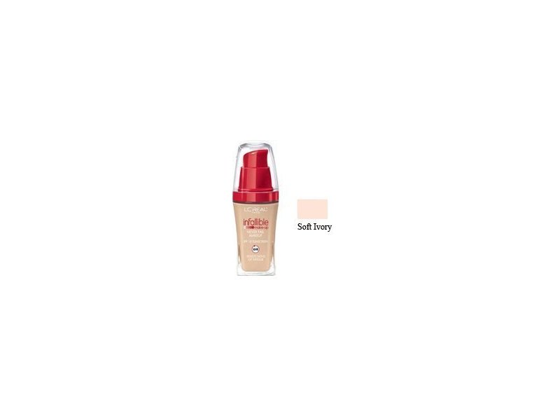 L'oreal Paris Infallible Advanced Never Fail Makeup Soft Ivory, L'oreal
