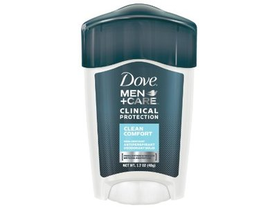 Dove Men+Care Clinical Protection Antiperspirant & Deodorant, Clean Comfort - Image 1