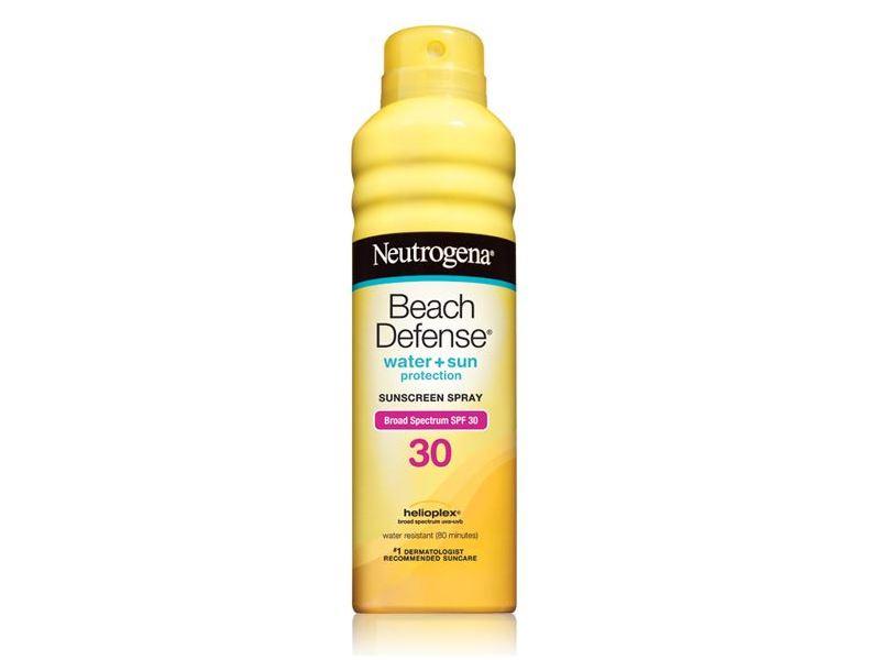 Neutrogena Beach Defense Sunscreen Spray, Broad Spectrum SPF 30, 6.5 fl oz