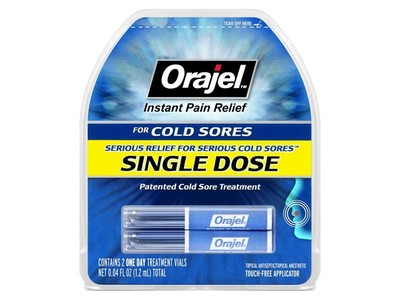 Orajel Single Dose Cold Sore Treatment, Church & Dwight Co., Inc.
