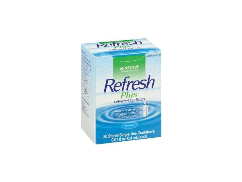 Refresh Plus Lubricant Eye Drops, Allergan, Inc