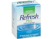 Refresh Plus Lubricant Eye Drops, Allergan, Inc - Image 2