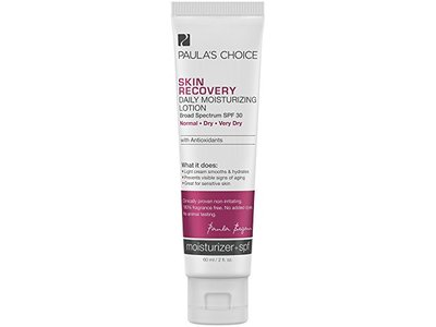 Paula's Choice Skin Recovery Daily Moisturizing Lotion SPF 30 Mineral Sunscreen for Dry and Sensitive Skin - 2 oz