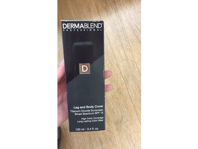 Dermablend Leg and Body Cover, SPF 15, Medium, 3.4 fl oz - Image 12