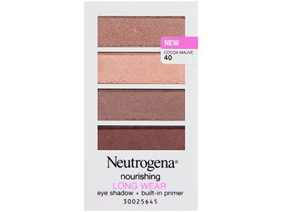 Neutrogena Nourishing Long Wear Eye Shadow Plus Primer, Cocoa Mauve, 0.24 Ounce - Image 3